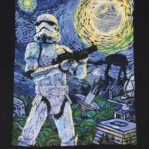 Star Wars Van Gogh storm trooper T-shirt